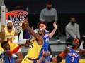 НБА: Лейкерс обыграли Оклахому, Торонто одолел Мемфис