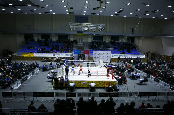 Харьковский Локомотив принял чемпионат Украины по боксу в 2016 году