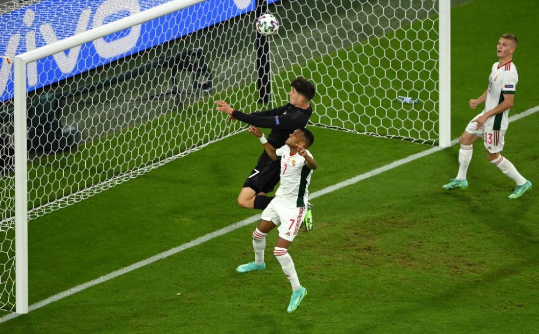 Германия сыграла вничью с Венгрией