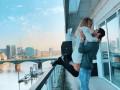 Нападающий Челси с женой похвастались шикарным видом из окна квартиры
