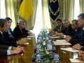 Янукович - Платини: Украинцам не хватает красивой игры любимых футбольных клубов