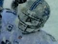 Сюрпризы погоды: Американский футбол завалило снегом