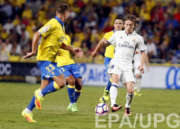 Реал оступился в матче с Лас-Пальмасом