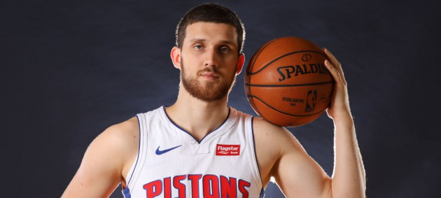 Украинцы в НБА: Михайлюк вышел в стартовой пятерке Детройта, Лень набрал 18 очков