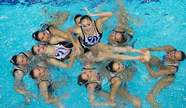 Украинки - чемпионки Европы по синхронному плаванию