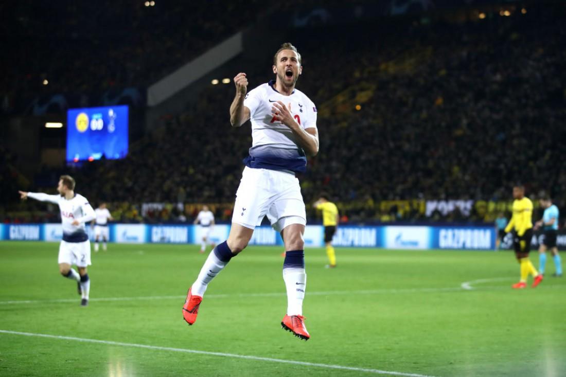 Харри Кейн открыл счет в матче Боруссия Д - Тоттенхэм
