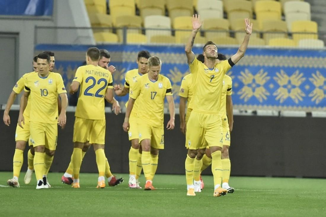 Украина - Швейцария: видео голов и обзор матча