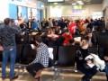 Турецкие болельщики подняли на уши аэропорт Жуляны