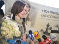 Цветы для Марии: Как встречали во Львове украинскую чемпионку мира по шахматам