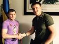 Беринчик подписал контракт с компанией братьев Кличко