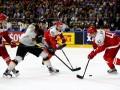 Дания - Германия 3:2 Видео шайб и обзор матча ЧМ по хоккею