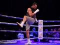 Подвижный Кличко и ленивый Джошуа: как прошла открытая тренировка боксеров
