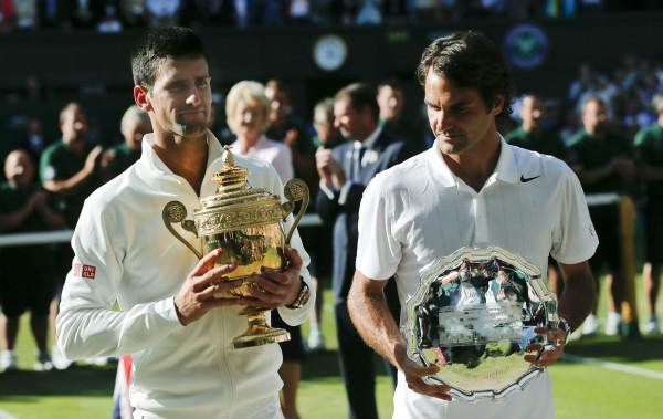 Федерер и Джокович выдали прекрасный матч в финале Уимблдона