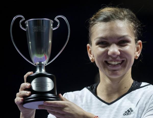 Симона Халеп завершила год в статусе третьей ракетки мира