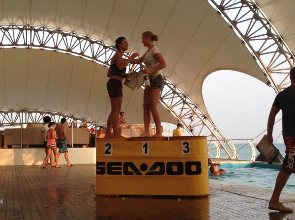 В Казантипе состоялся этап Чемпионата Украины по аквабайку