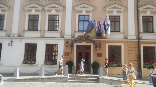 Гостиница, в которой живет Рапид