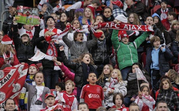 Юные фанаты Аякса