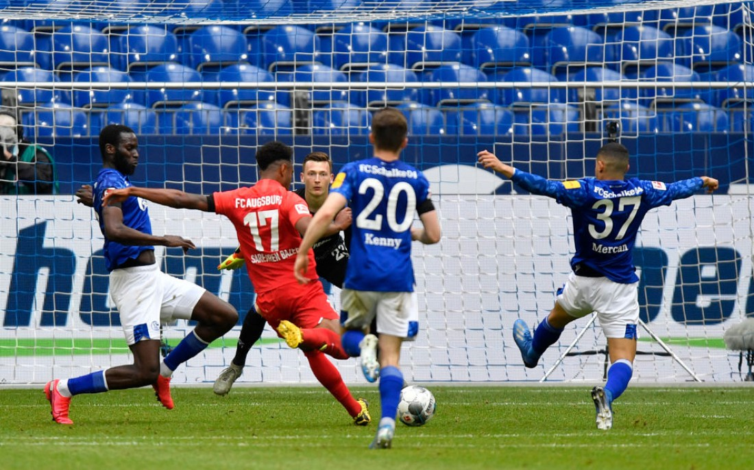Шальке - Аугсбург: видео голов и обзор матча