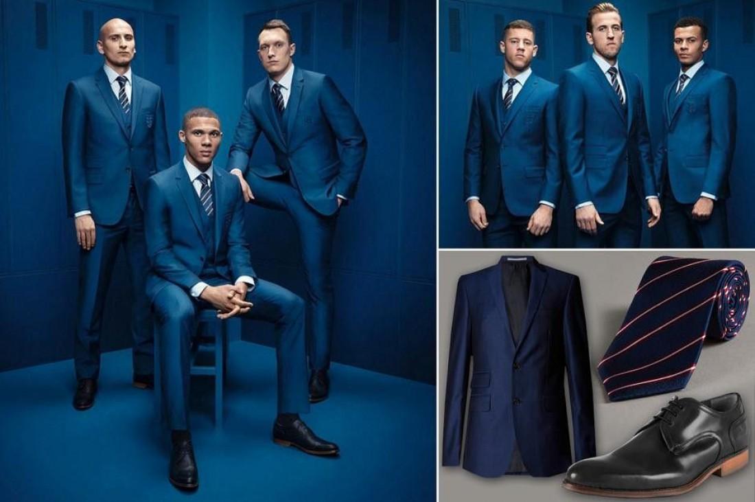Англичане поедут на чемпионат Европы во Францию в костюмах от Marks & Spencer