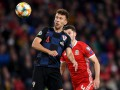 Уэльс - Хорватия 1:1 видео голов и обзор матча отбора на Евро-2020