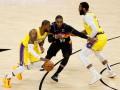 НБА: Лейкерс проиграли Финиксу, Бруклин выиграл серию у Бостона