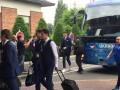 Сборная Украины прибыла в Лилль