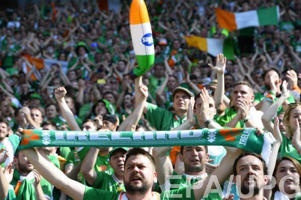 Власти Парижа поблагодарили болельщиков Ирландии