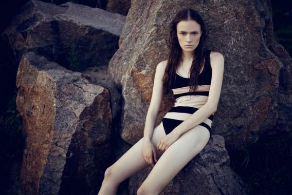 Шаповал - известная в мире украинская модель