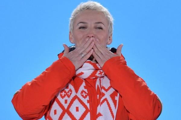 Алла Цупер выиграла для Беларуси золотую медаль