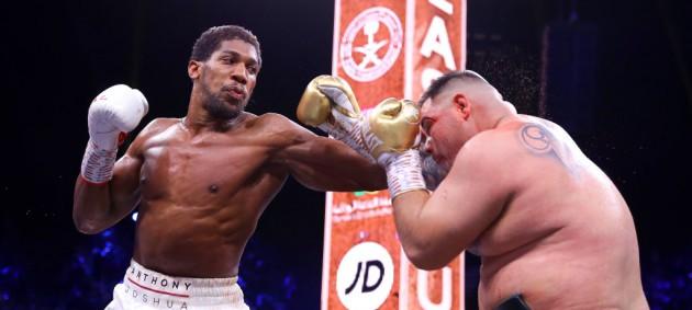 Джошуа взял реванш у Руиса и вернул чемпионские пояса