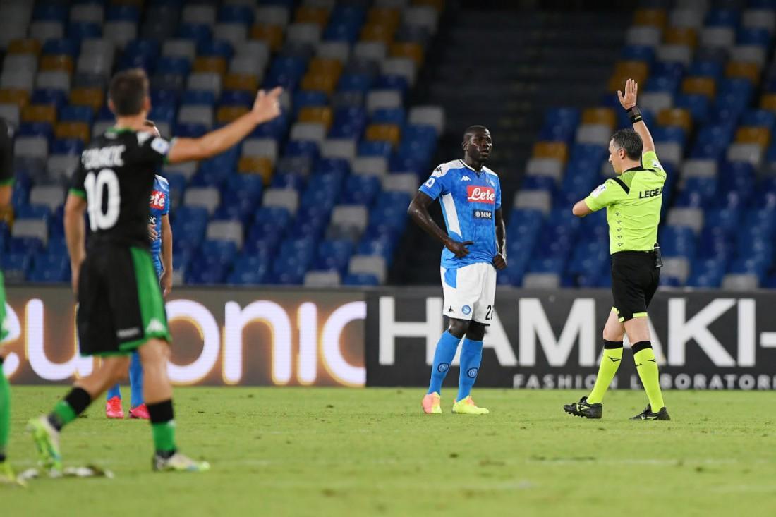 Наполи - Сассуоло: видео голов и обзор матча