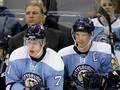 NHL: Шайба Федотенко не спасла Пингвинов от крупного поражения