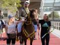 Свитолина и Возняцки посетили конный центр накануне старта турнира в Дохе