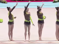 Украинские гимнастки взяли серебро Кубка мира