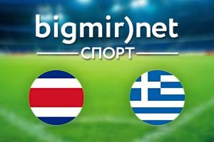 Коста-Рика – Греция: Где смотреть матч 1/8 финала