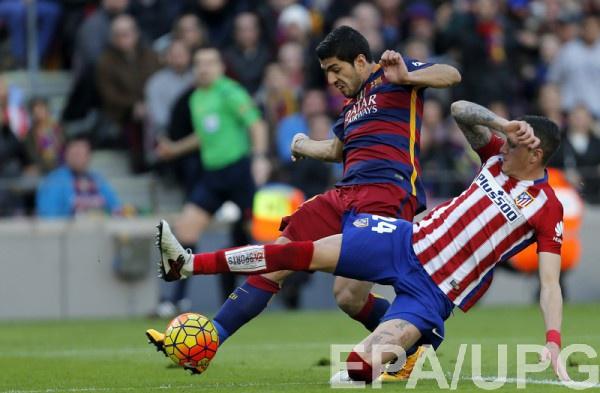 Барселона сыграет с Атлетико