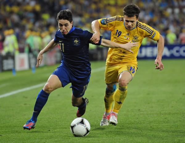 Насри и Коноплянка уже встречались на Евро-2012
