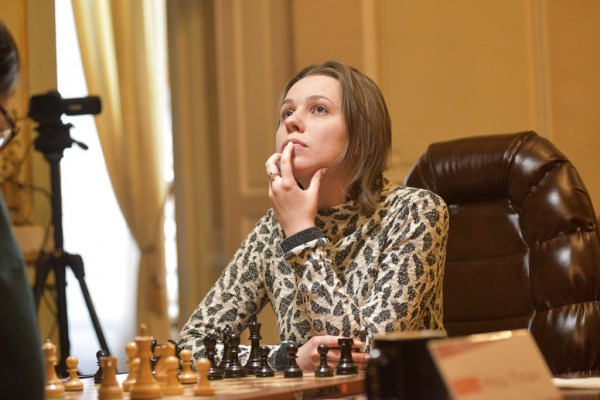 Музычук уступила во второй партии