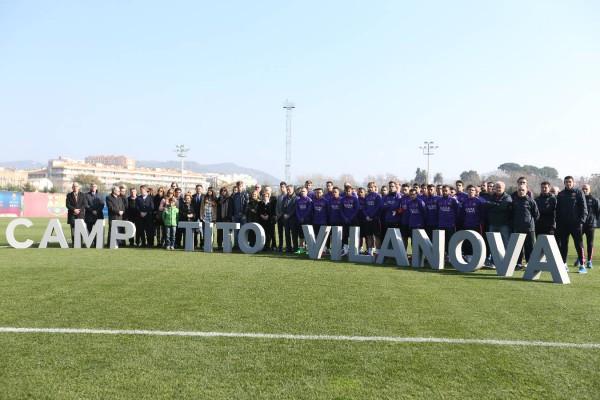 Барселона назвала тренировочное поле в честь Тито Вилановы