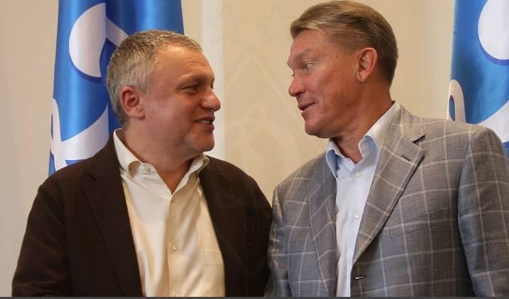 Во время представления Блохина главным тренером команды