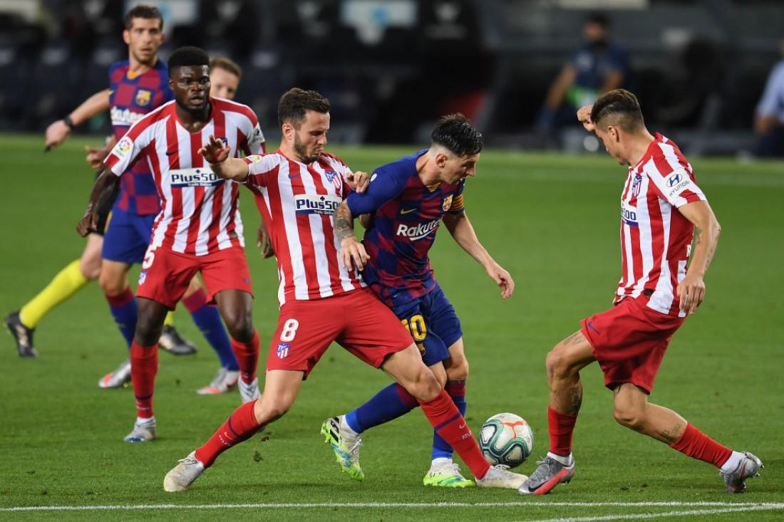 Барселона - Атлетико: видео голов