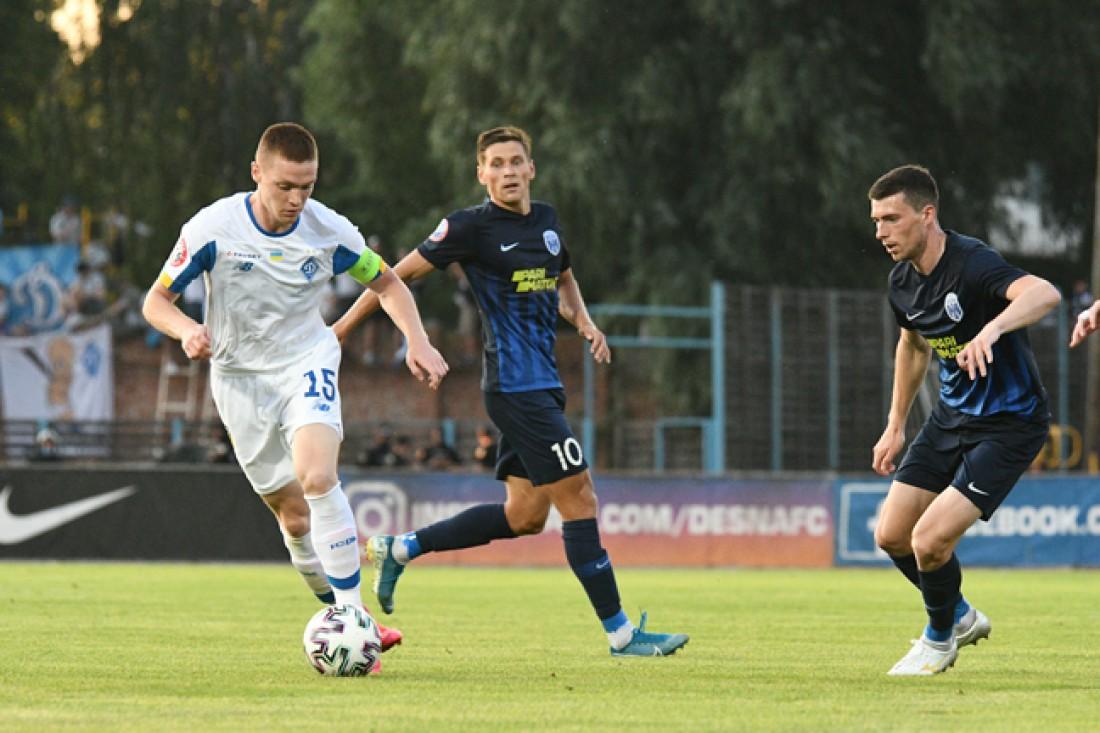 Десна - Динамо: видео голов и обзор матча