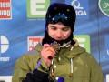 Швейцарский фристайлист словно супермен поднялся по эскалатору