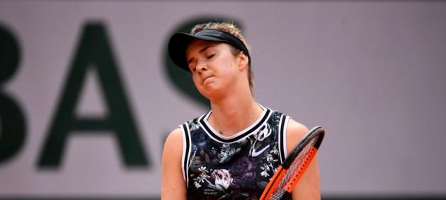 Свитолина снялась с матча против Боузковой из-за травмы