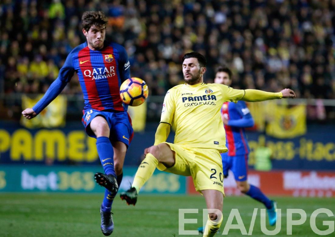 Вильярреал – Барселона 1:1