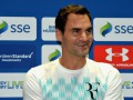 Федерер сыграл один гейм в килте в выставочном матче