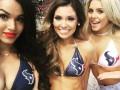 Горячие черлидерши Хьюстон Тексанс в одних купальниках закатили барбекю-вечеринку