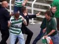 Фанаты Селтика в Амстердаме устроили драку с полицией