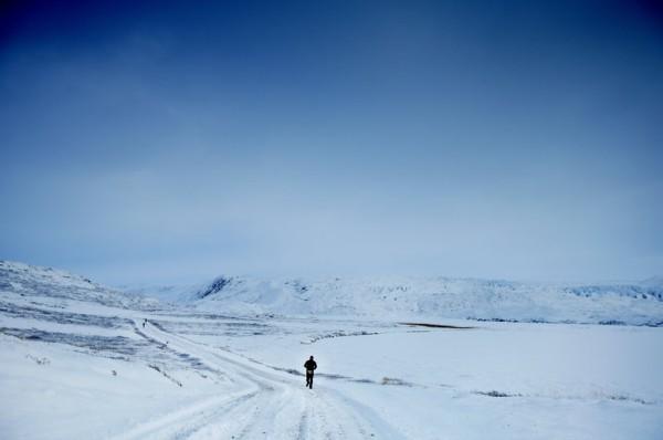 Суровый марафон за полярным кругом
