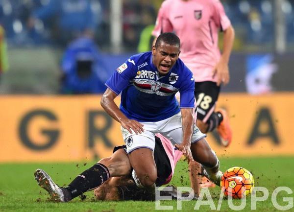 Фернандо в матче за итальянскую Самдорию